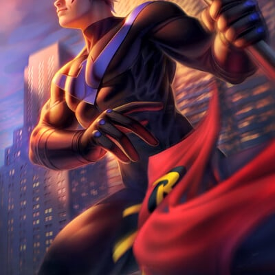Warren louw nightwing 63 by warren louw