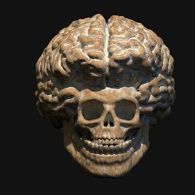 Cauliflower skull