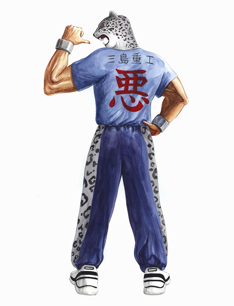 king tekken 3 characters