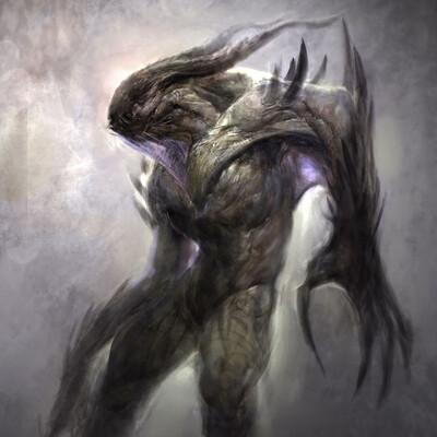Anthony jones alien or demon 3 by robotpencil d33ba6c fullview