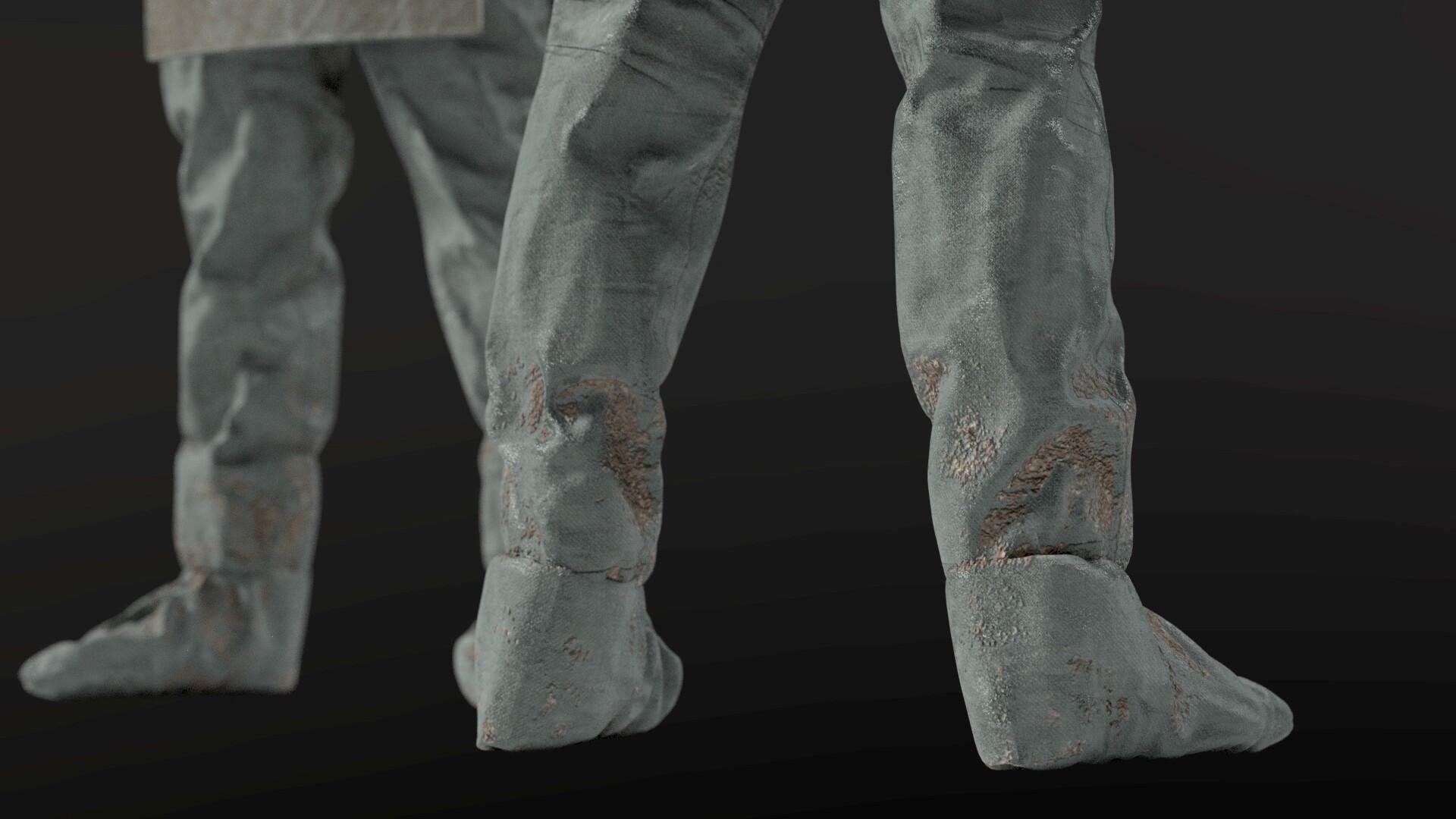 ArtStation - Chernobyl Liquidator Suit, Albin Merle