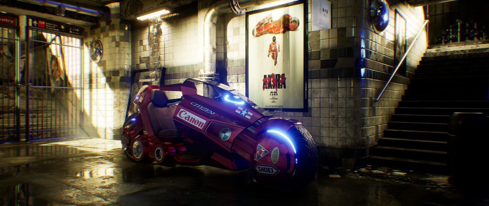 My Akira bike interpretation