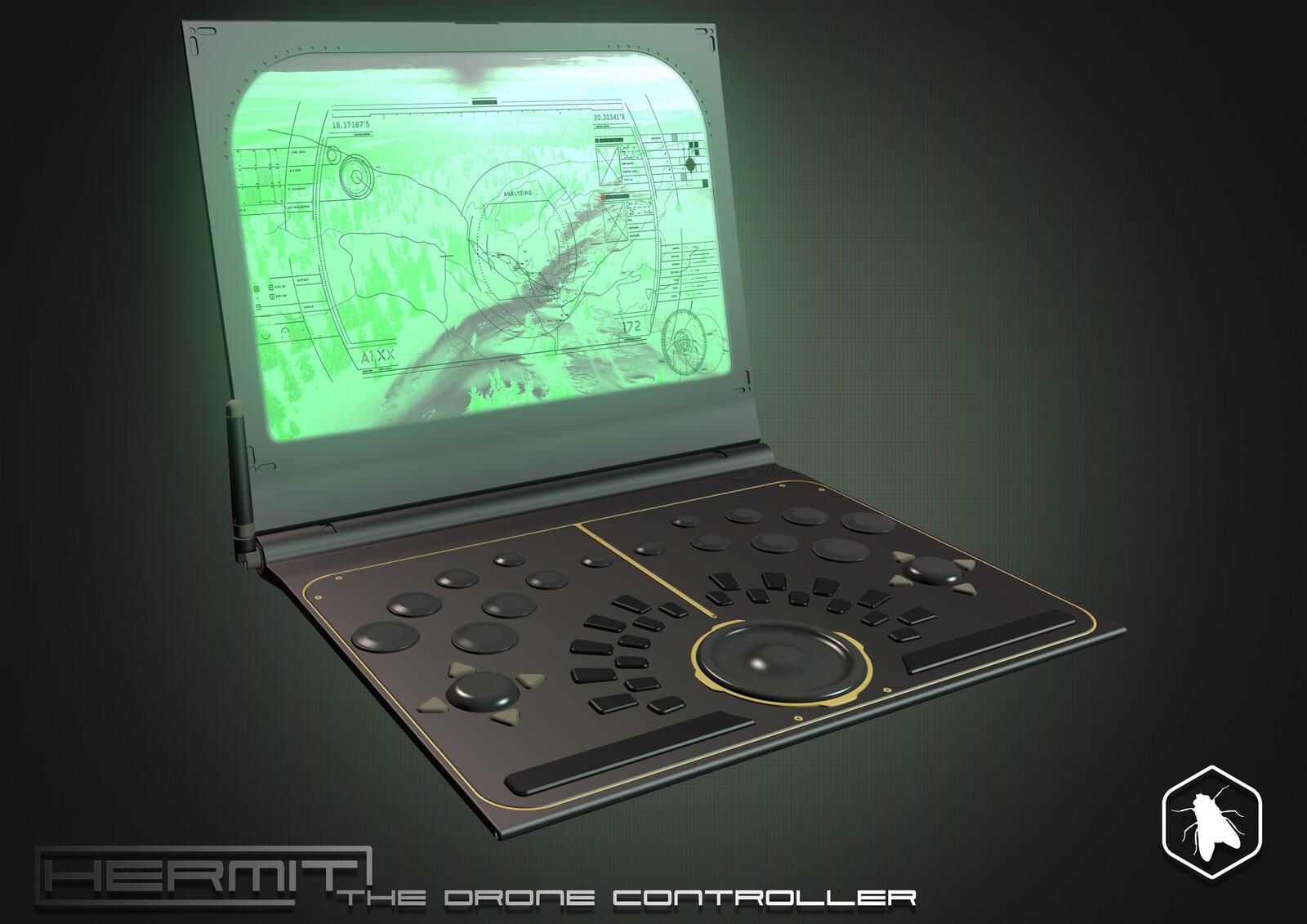 Hermit - Drone Remote Controller