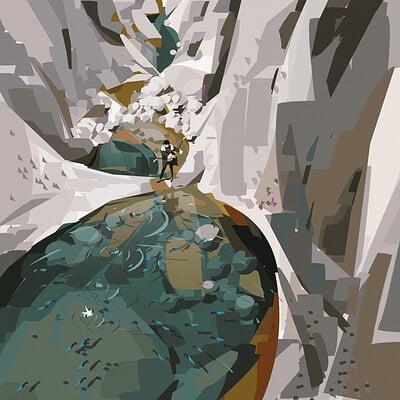 Yun ling rock water3