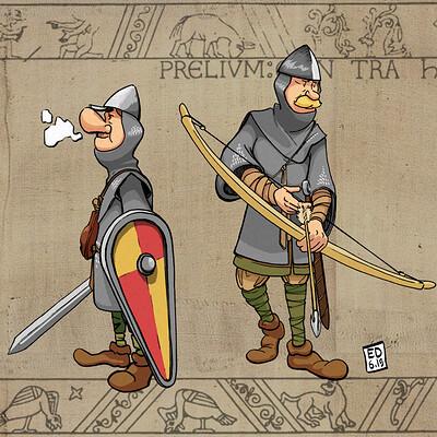 Edouard duhem 1066 tapestry