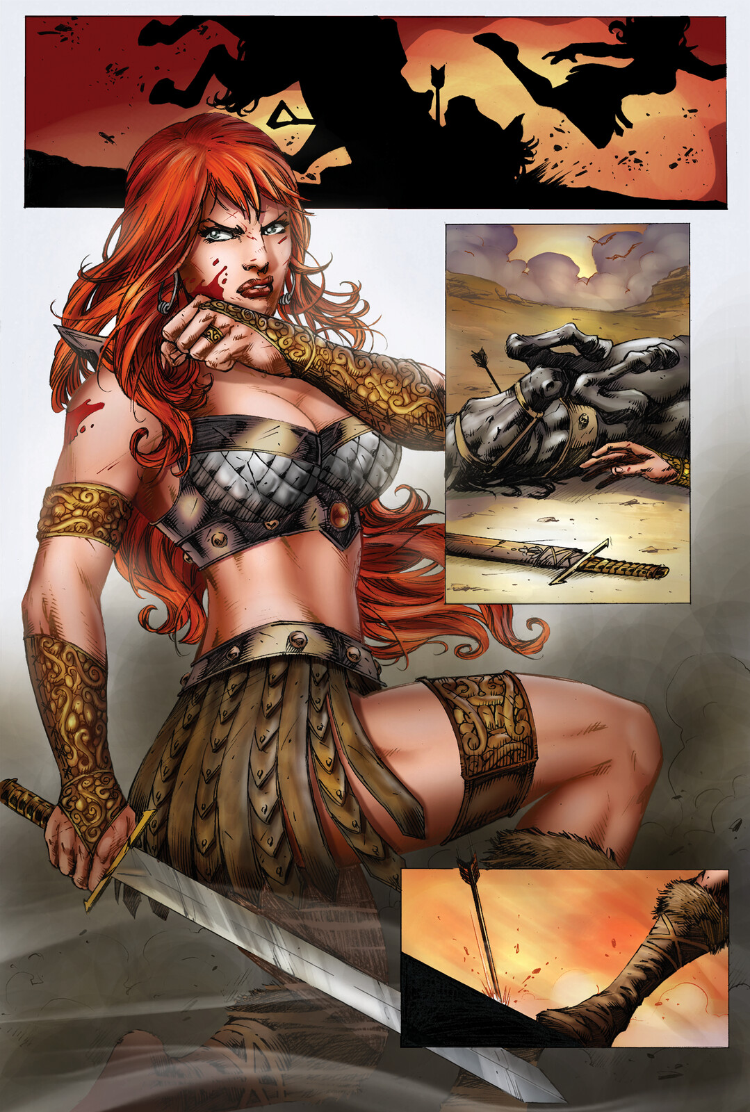 Red Sonja Sequential - Colors
