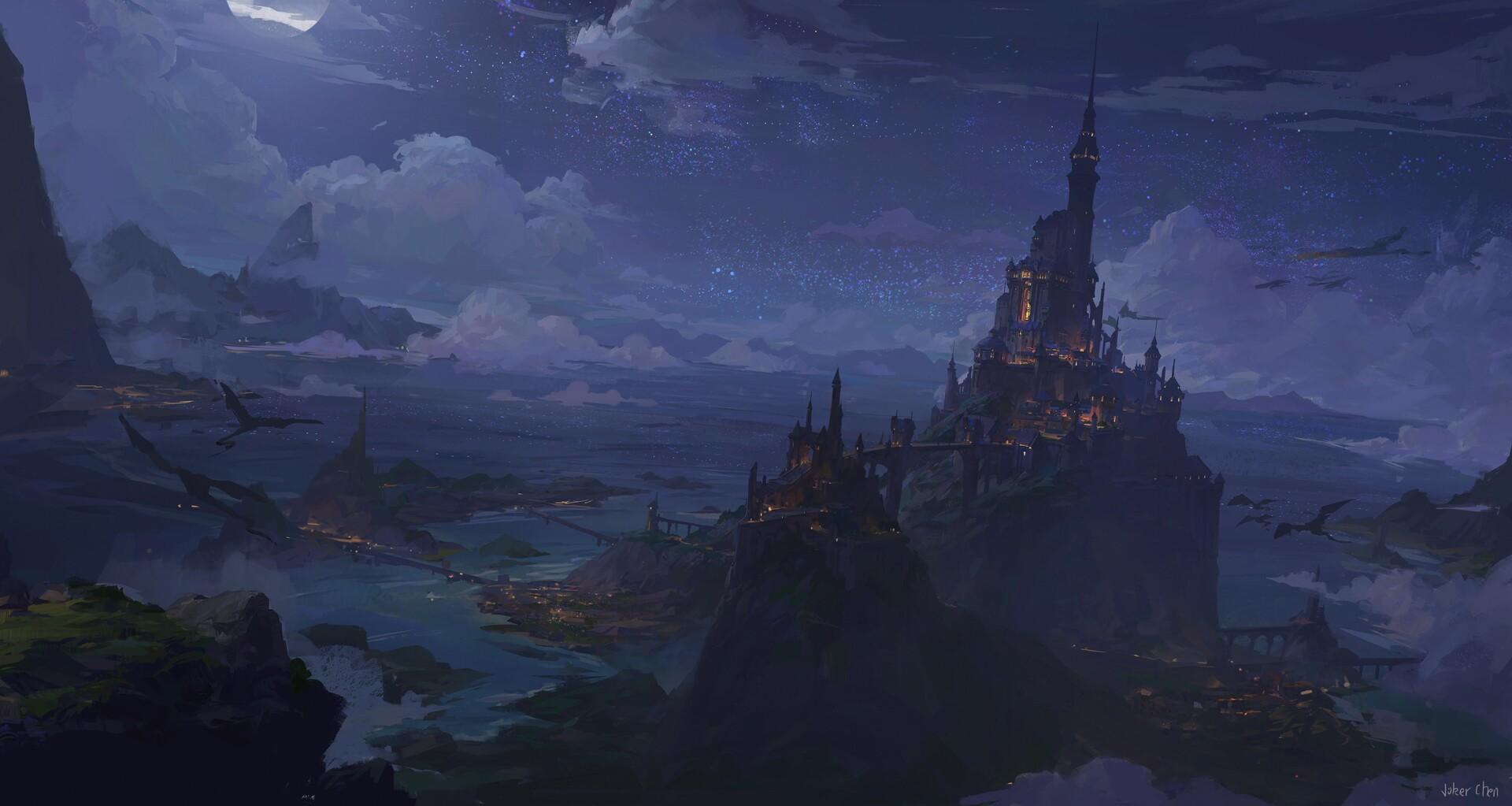 The dark fairy castle
