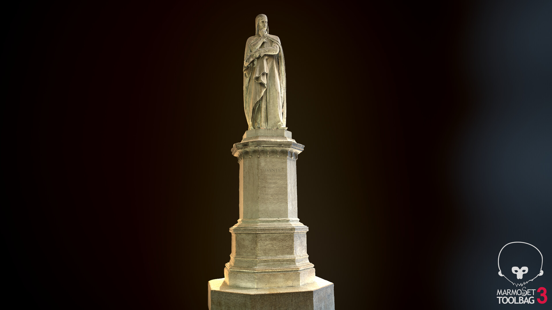 ArtStation - photogrammetry : GameReady statue, Nabil Kechiche
