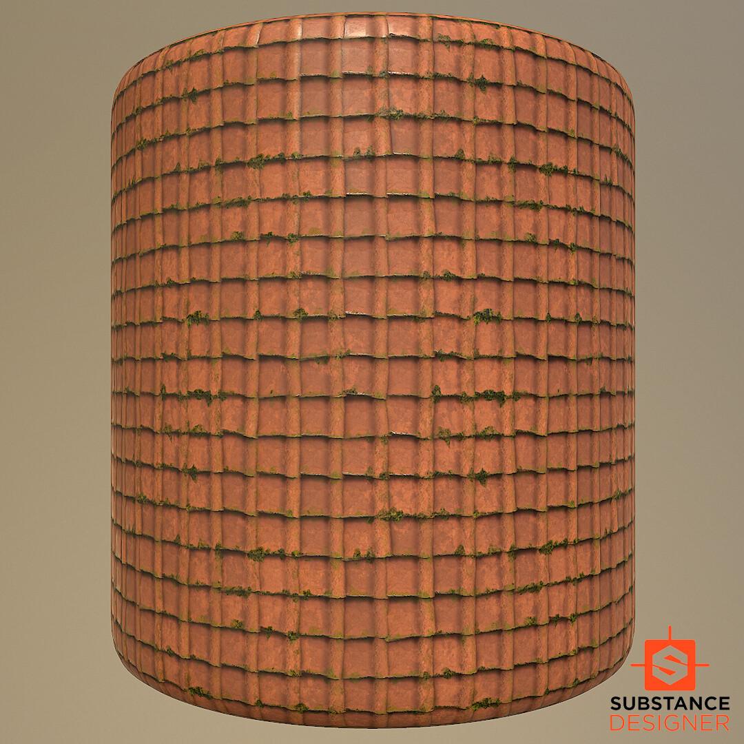 Christoffer sjostrom ceramicroof tiles cylinder