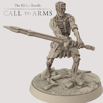 Basic Draugr 2 . The Elder Scrolls - Call to Arms