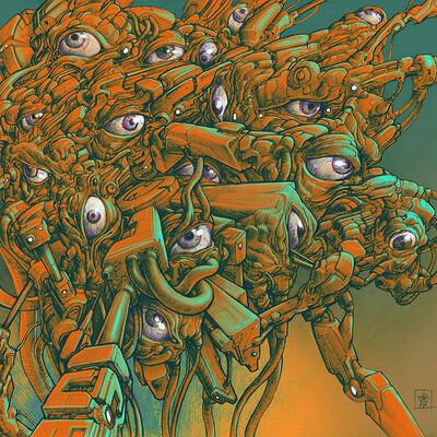 Atom cyber the rezonator of unknow origin