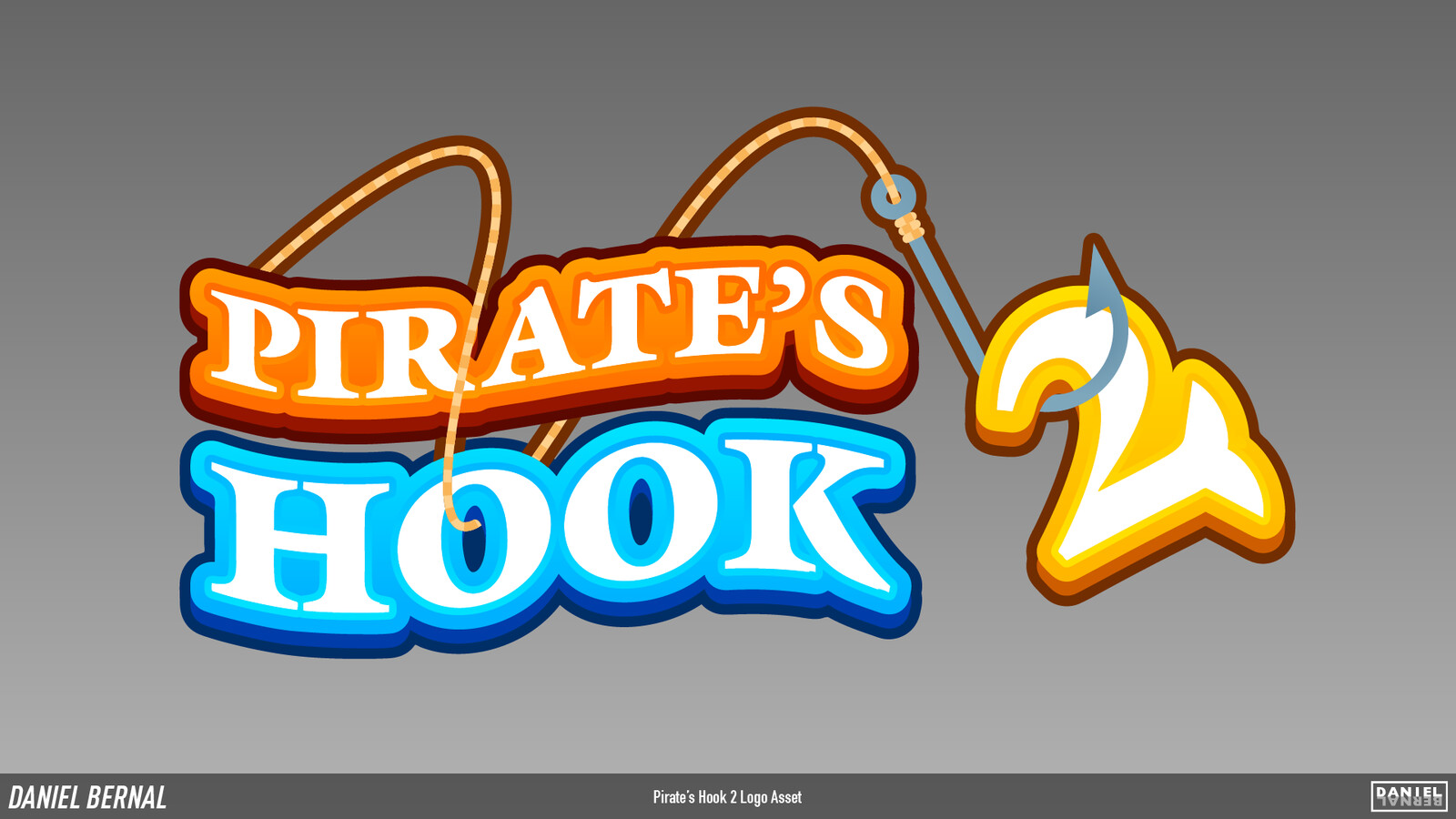 Pirate's Hook 2 Logo Asset