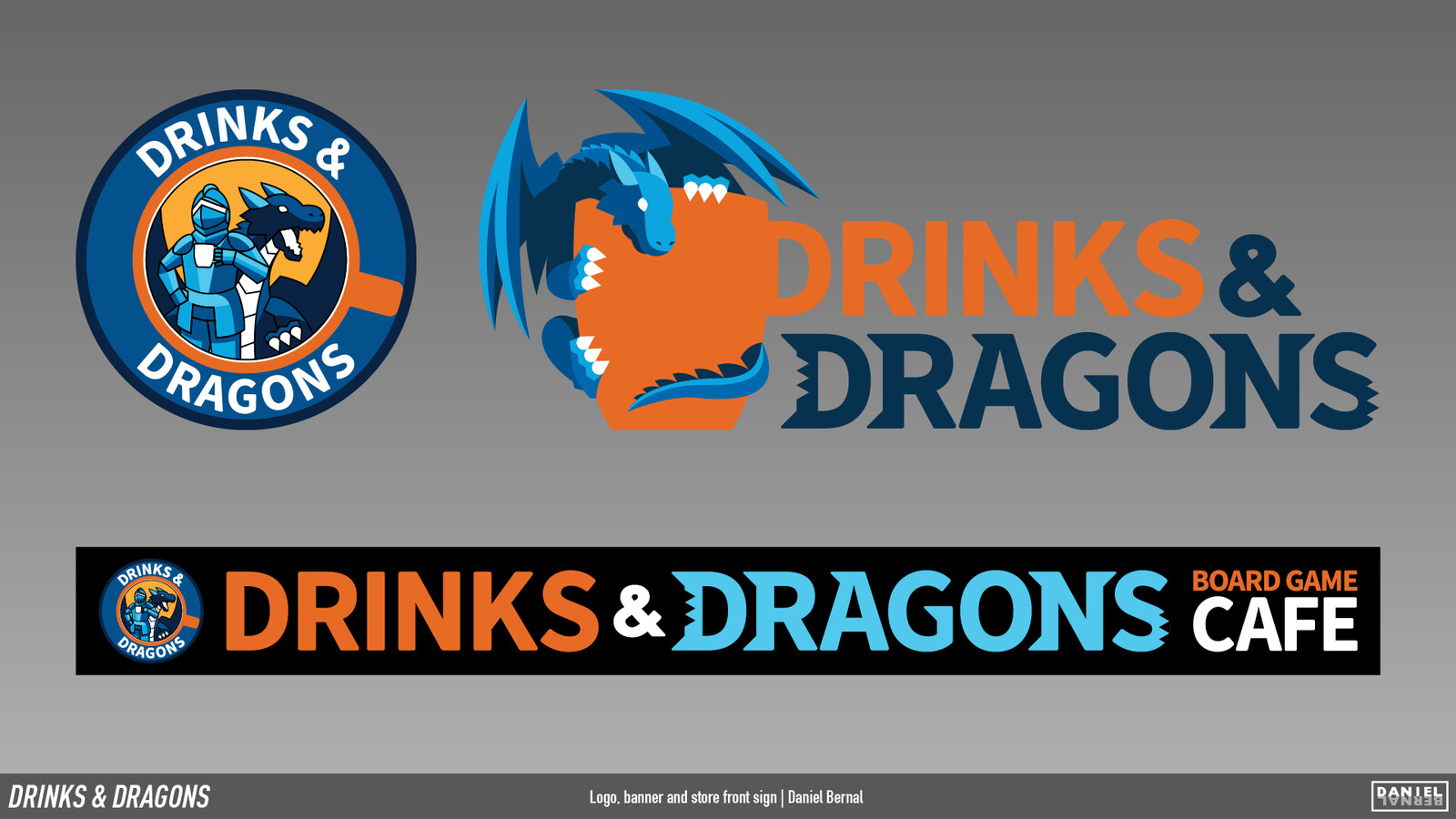 Drinks and Dragons Logo Assets