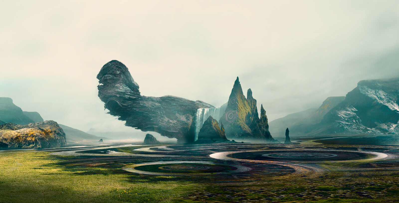Environment Matte Painting