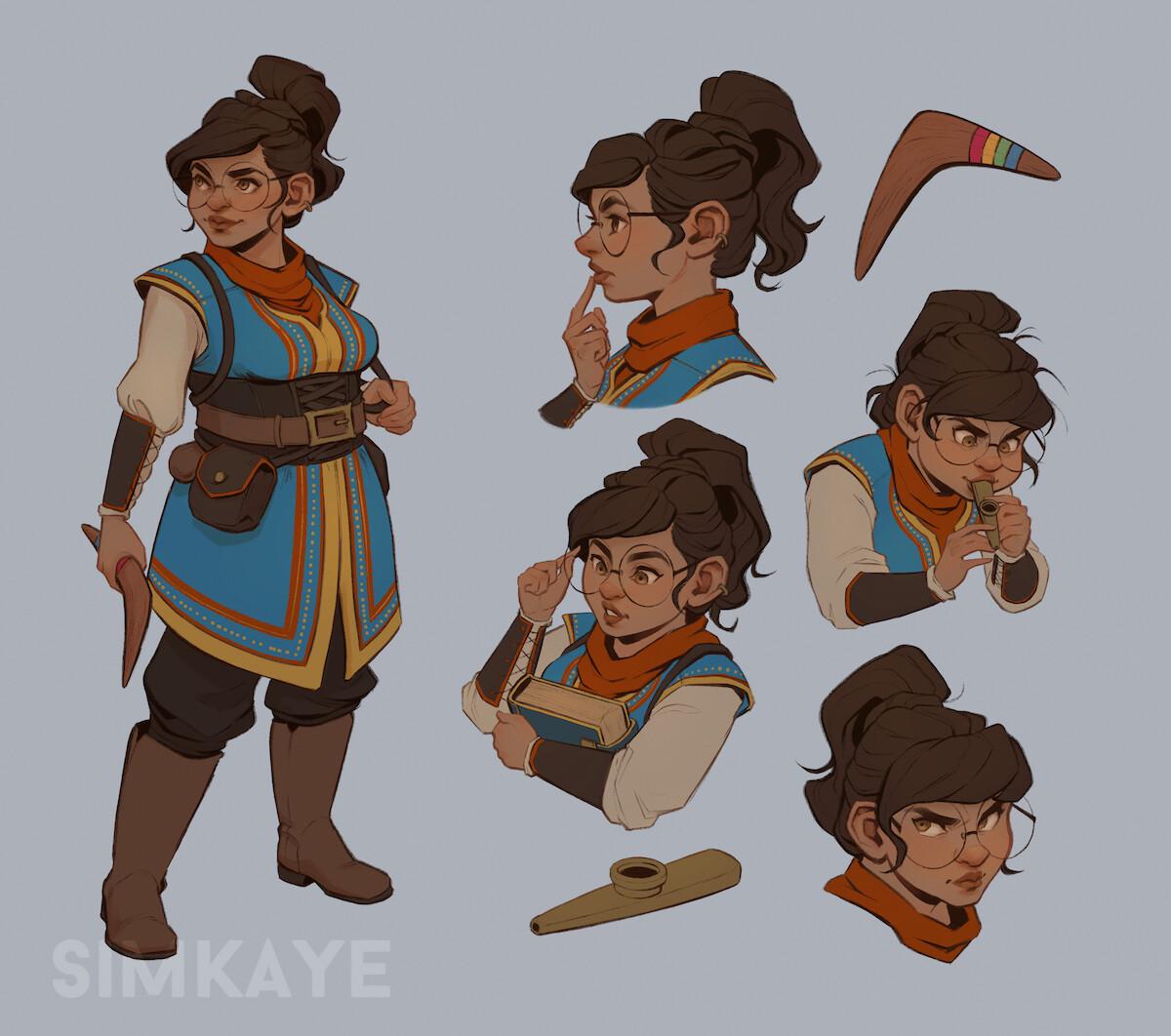 Halfling Character Design