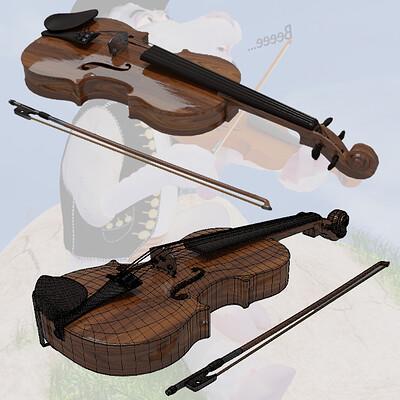 Konrx krzeminski sheepard board4 violin