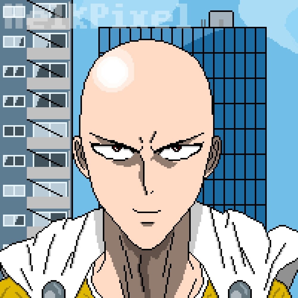 Saitama AKA Caped Baldy AKA One Punch Man