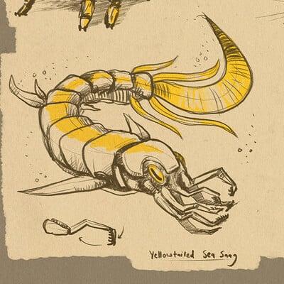 Alien Insect Doodles