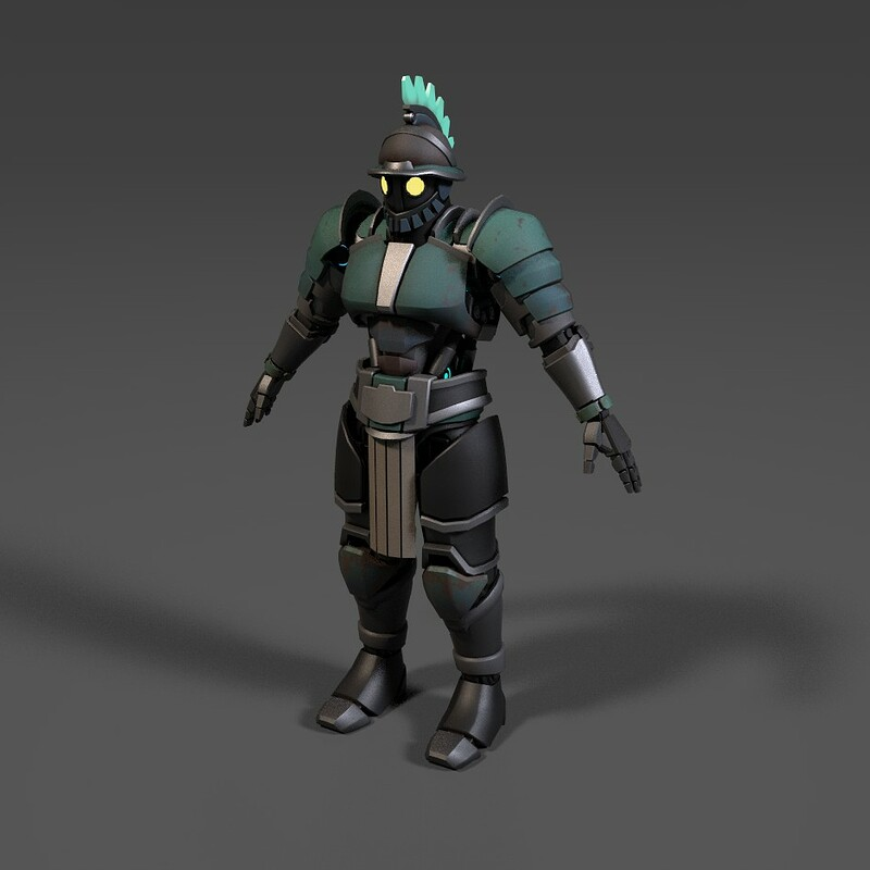 sci-fi gladiator