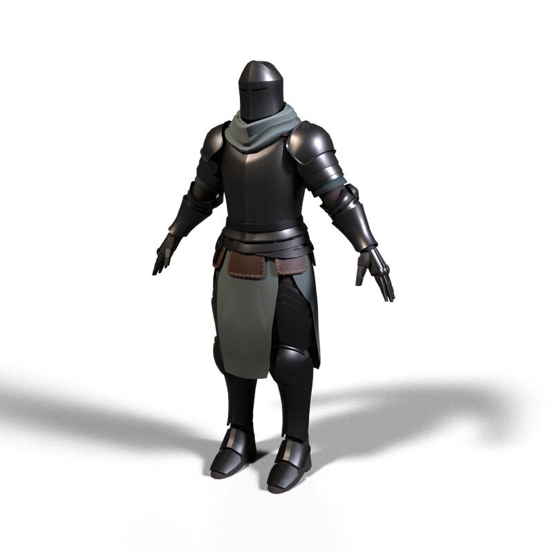 simple knight