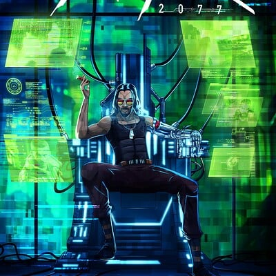 Mayank kumarr johnny silverhand cyberpunk 2077