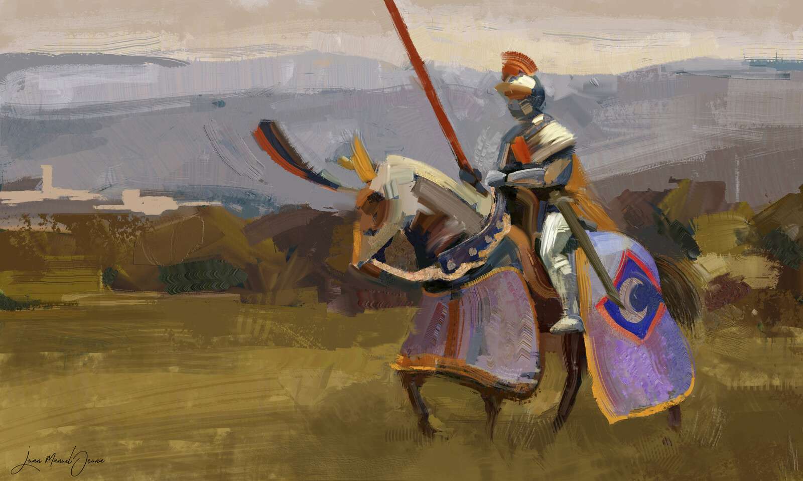 Medieval knight - Keyframe Art