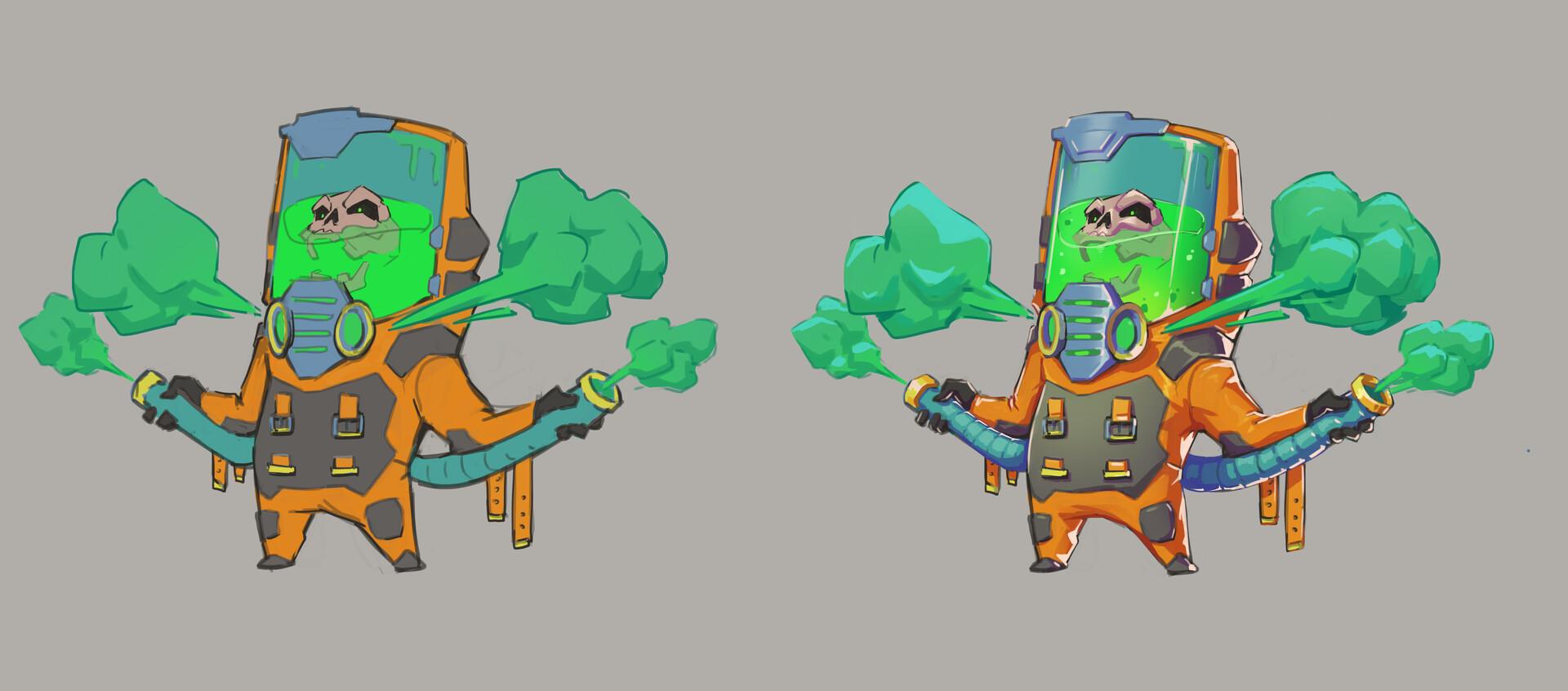chosen color vs rendered