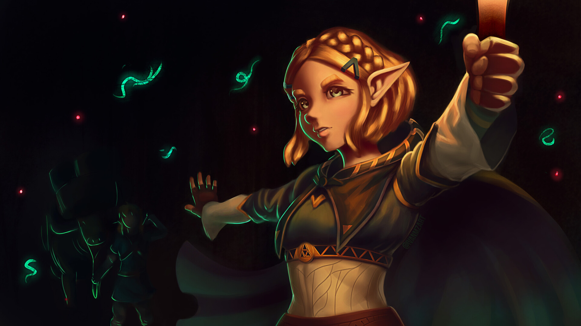 Ivanmz Princess Zelda The Legend Of Zelda Breath Of