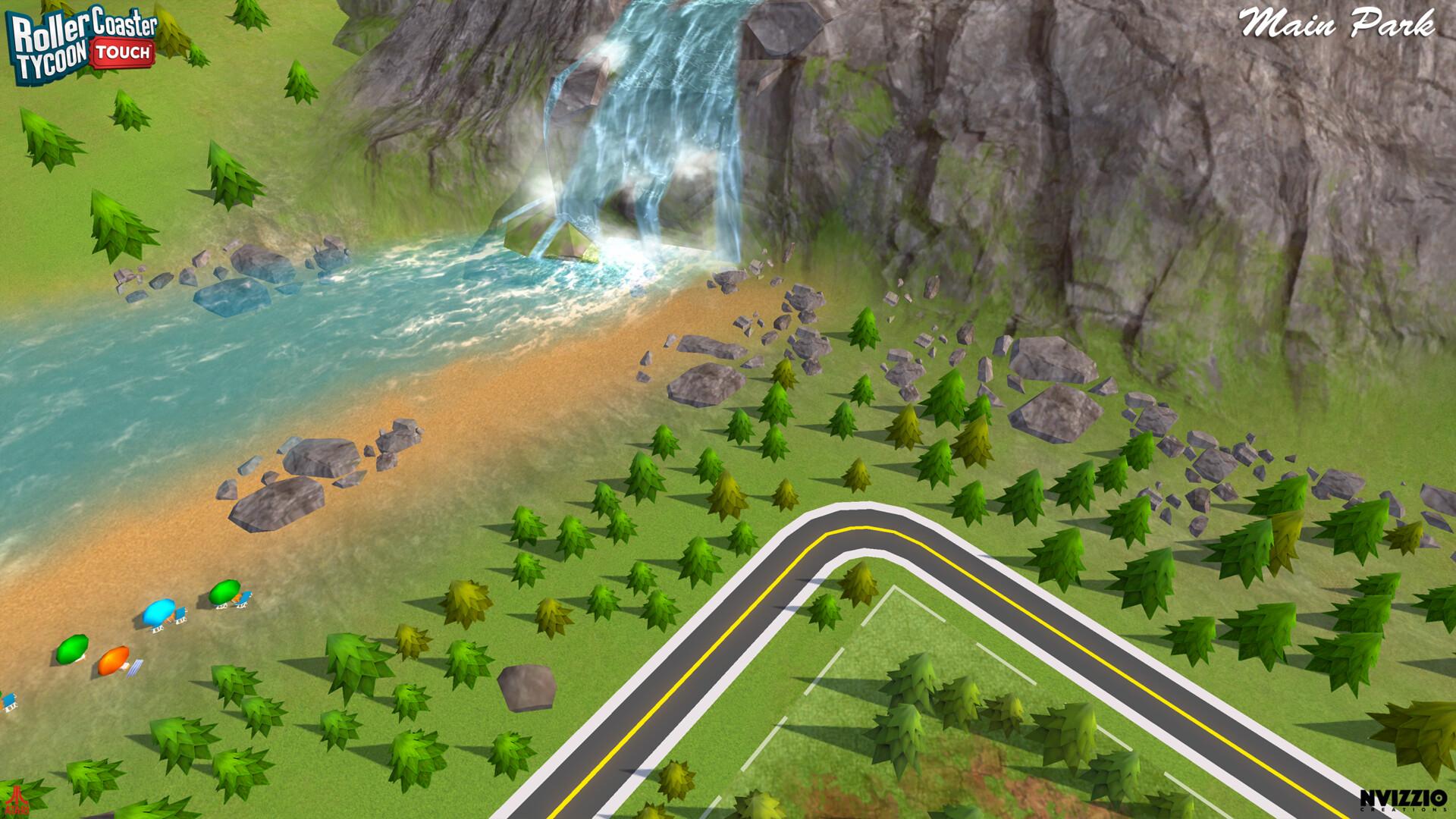 ArtStation - Roller Coaster Tycoon Touch - Main park, Xavier