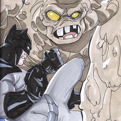 Afromation art bats clayface