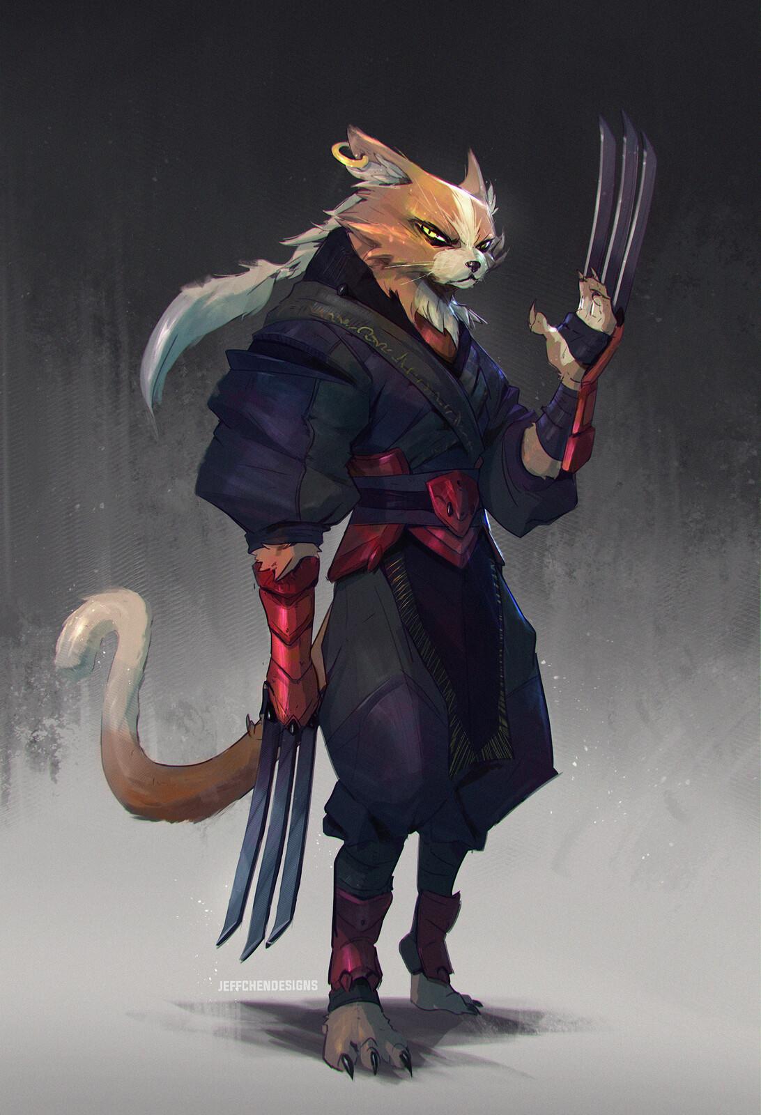 Ninja Cat CDC