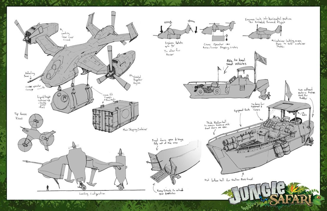 Jungle Safari - Prop Design