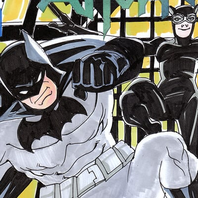 Afromation art bats sketch cover color2a