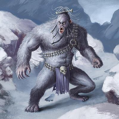 Jean buchet creature montagne