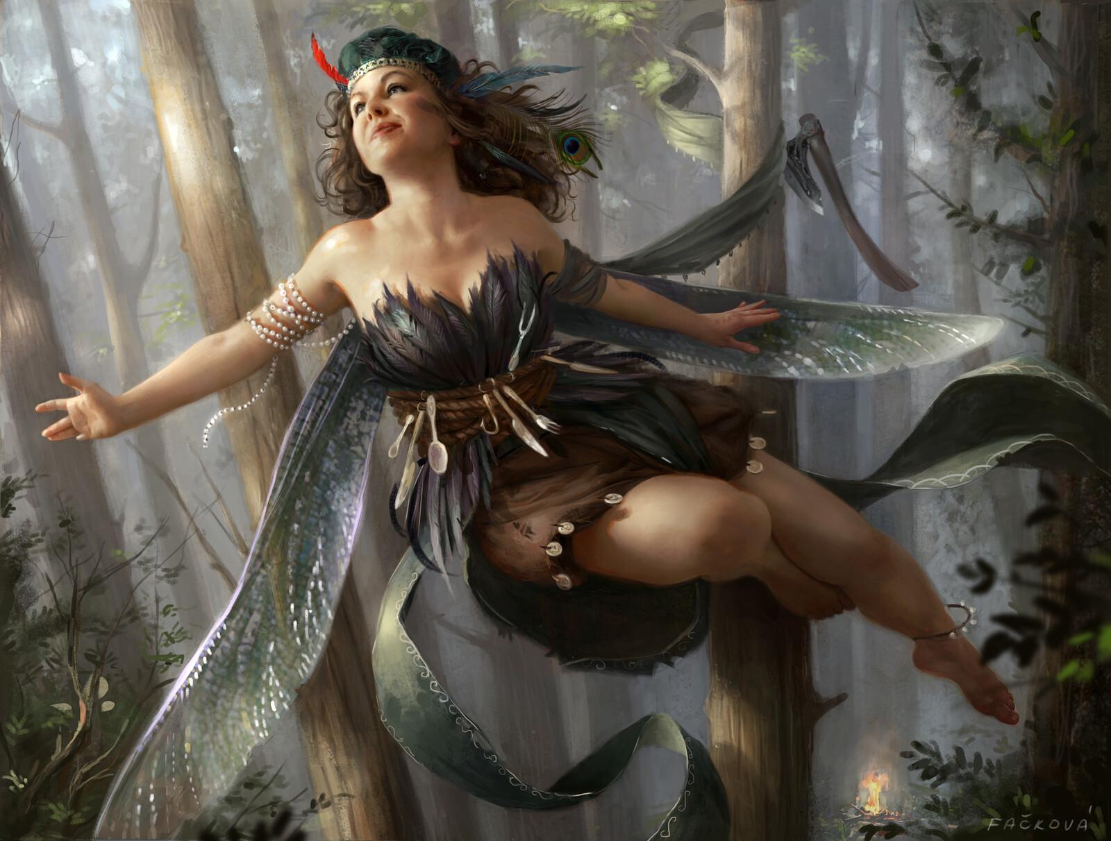Mischiveous fairy