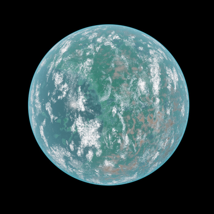 GJ 357 d - the outermost planet in the system and within the habitable zone.