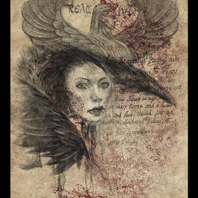 Turner mohan harpy card
