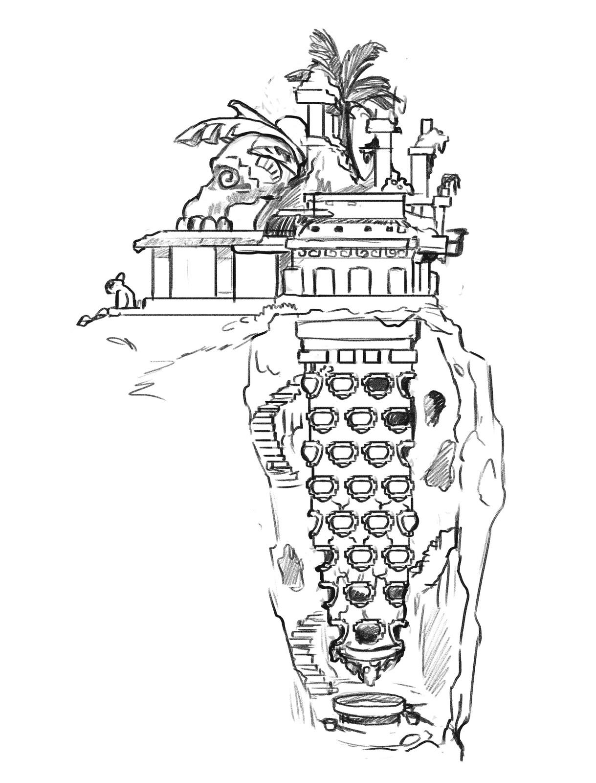 Mayan demon hatchery