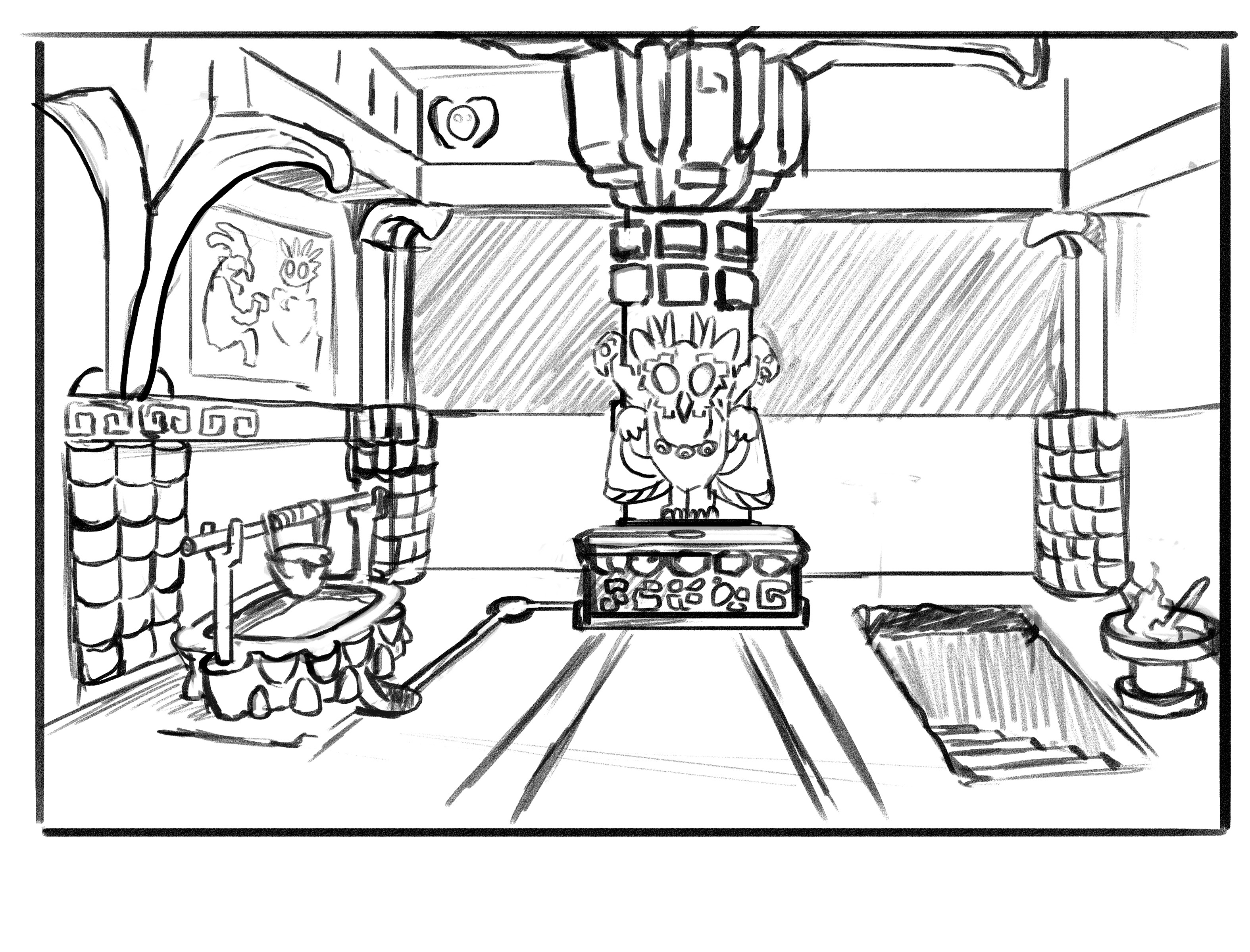sacrificial room