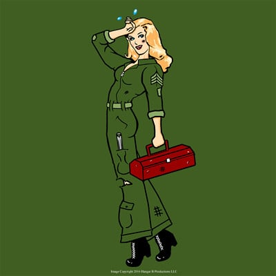 Hangar b productions mechanic blonde small
