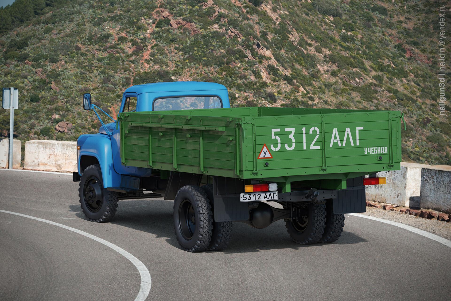 Nail khusnutdinov alg 048 010 gaz 53 12 rear view 3x