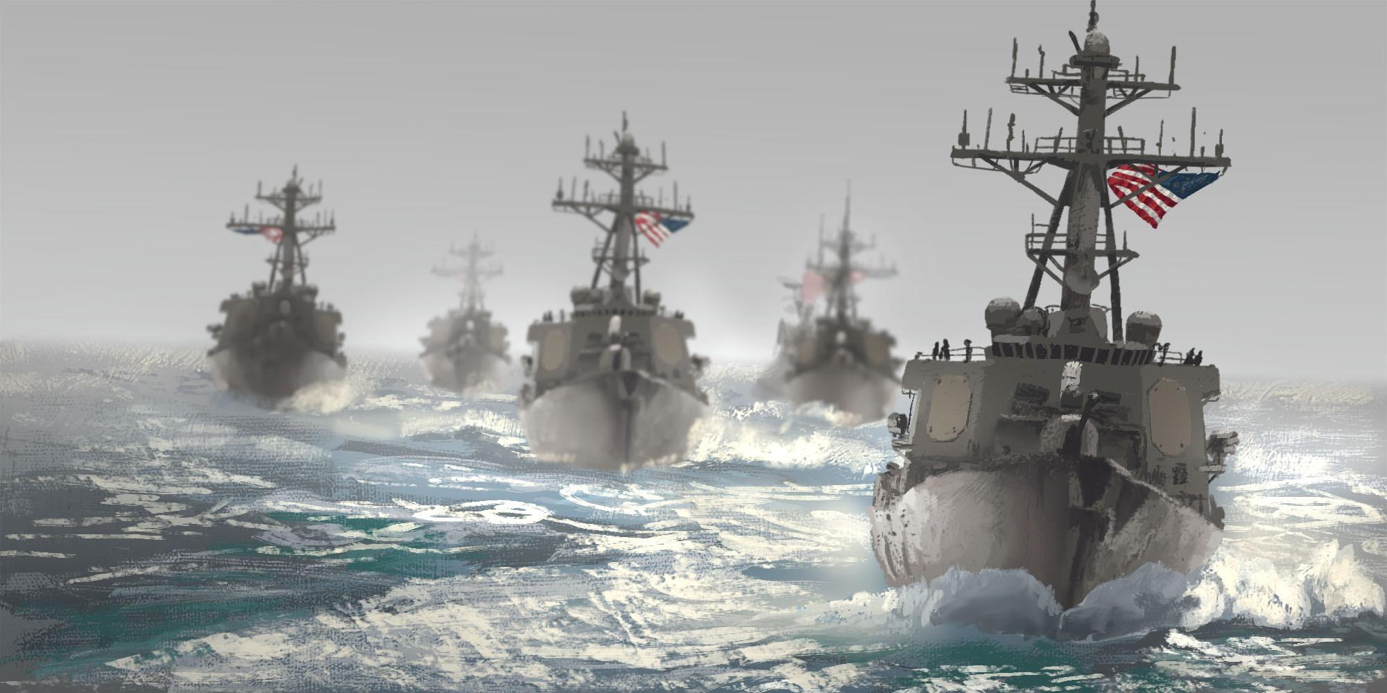 Photo Study: Flotilla