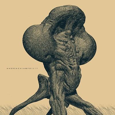 Alien Sketch - ZBrush