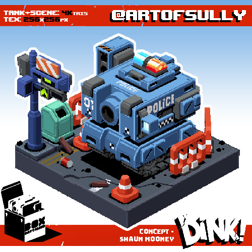 DINK! Box-Battalion Fanart - Urban Pacification Unit