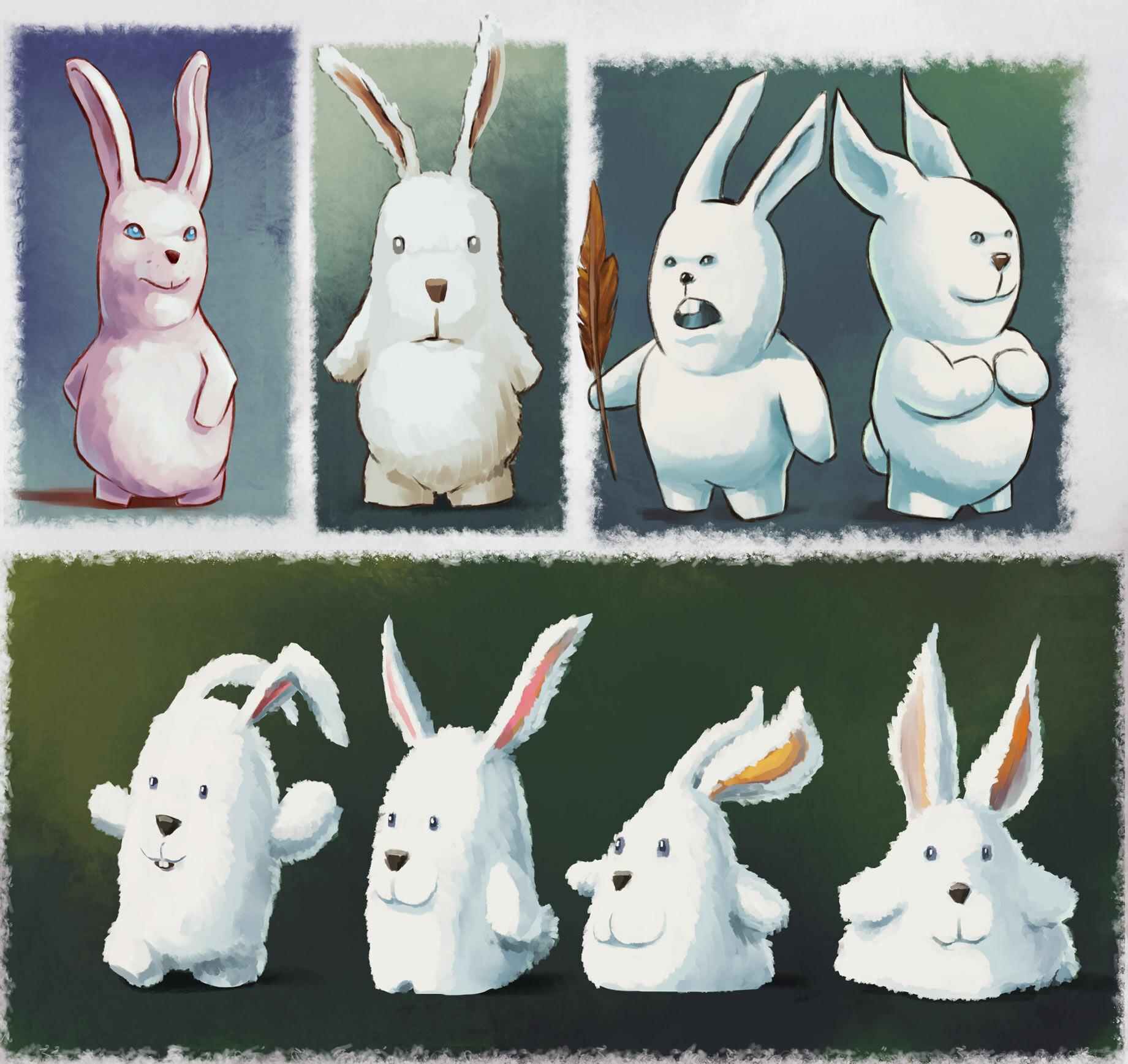 Antoine le corre bunnies2