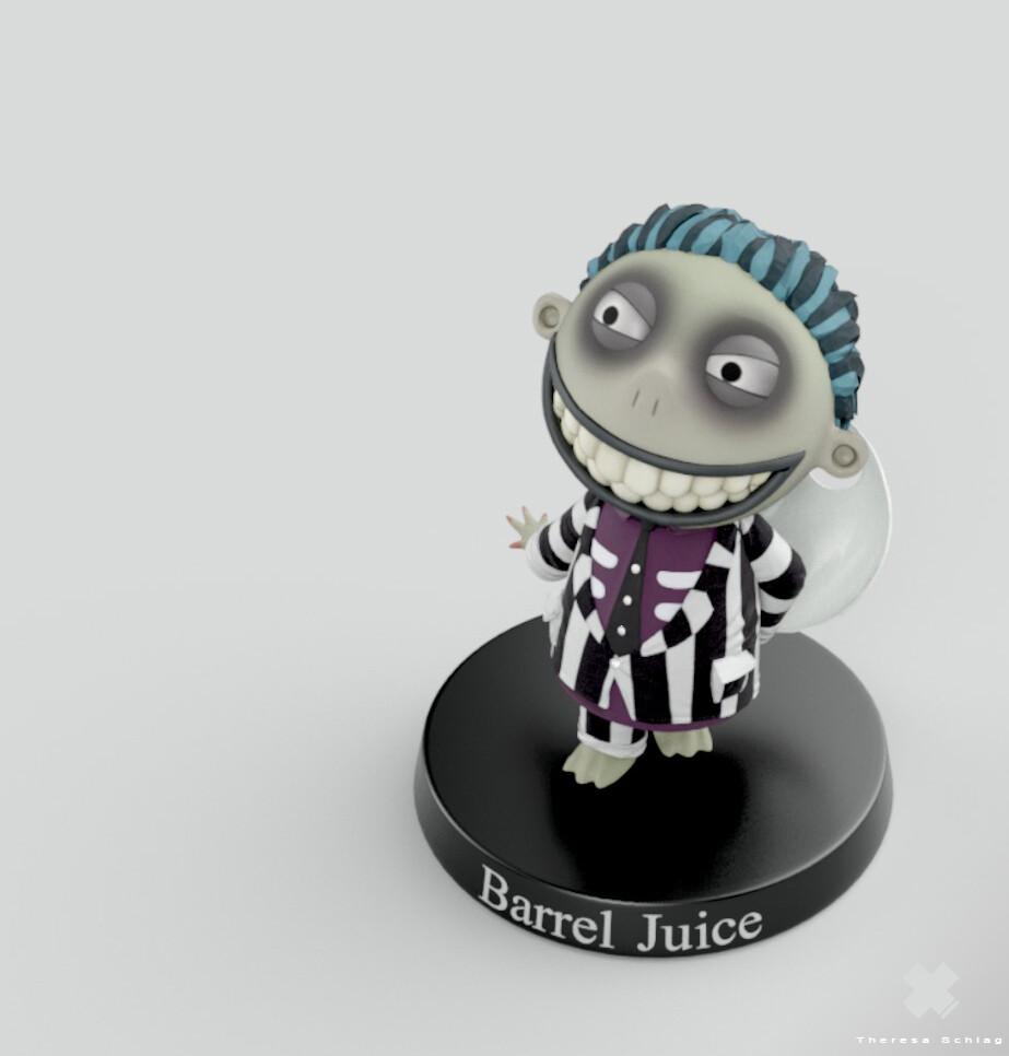 Barrel Juice Render