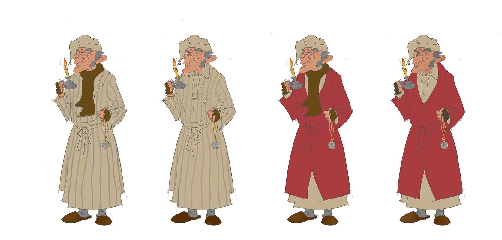 Marcin warzecha scrooge sketches