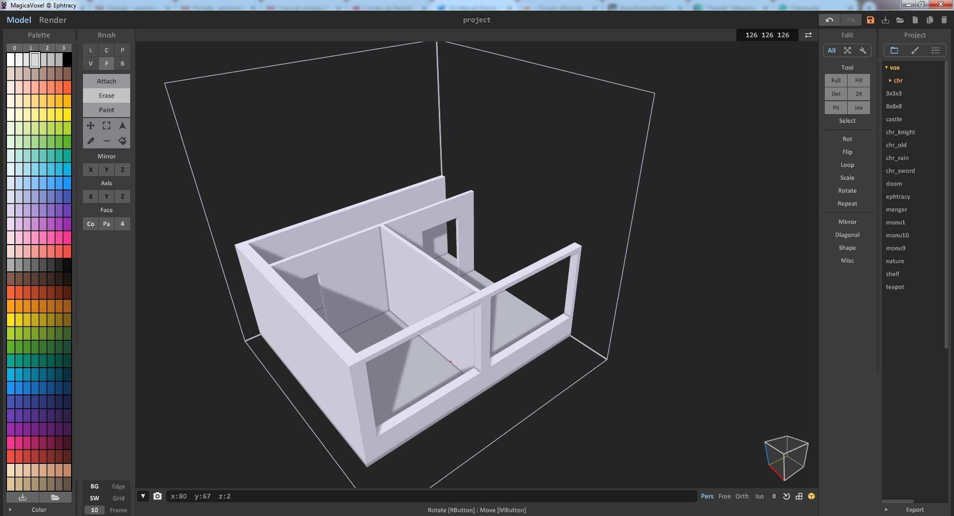 Modelling Walls