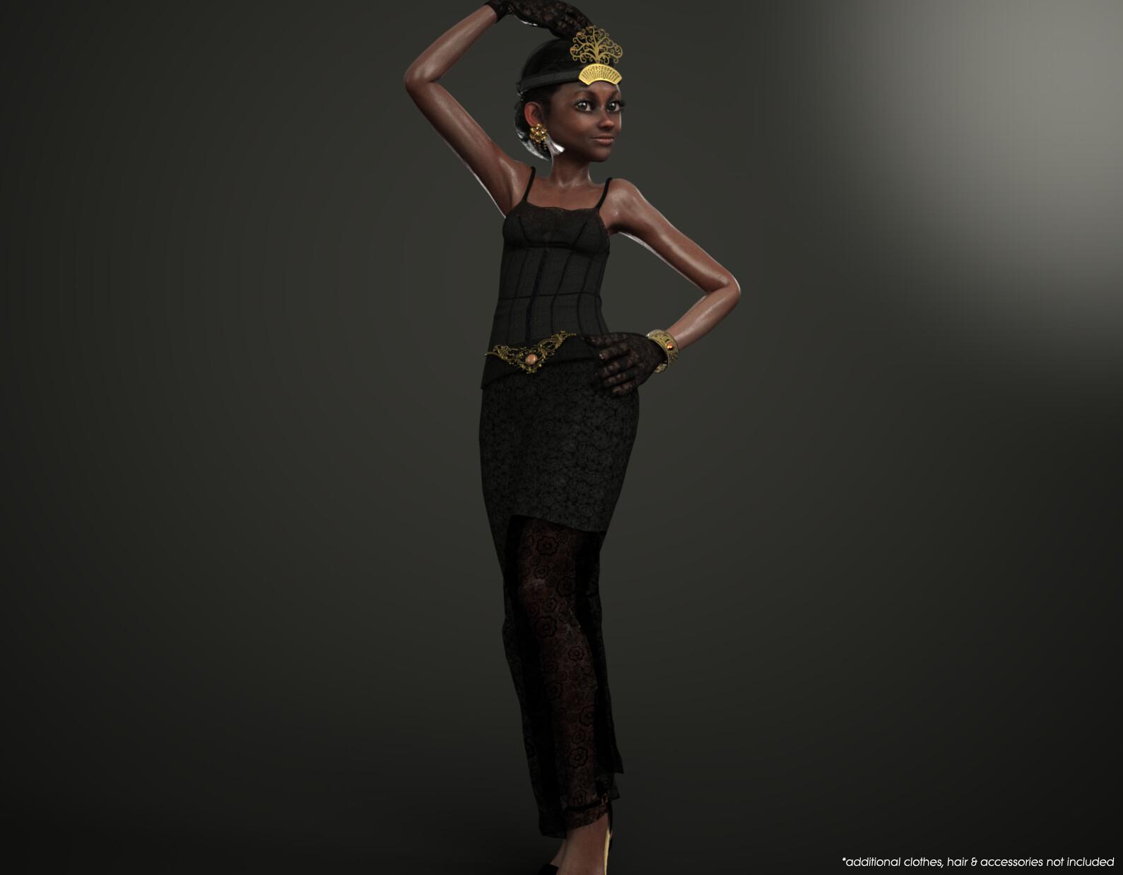 CC3 Lady