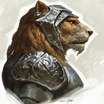 Qichao wang lion knight